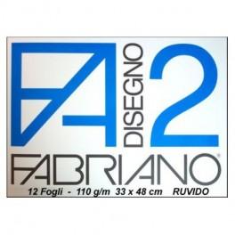 BLOCCO FABRIANO 33 X 48 RUVIDO
