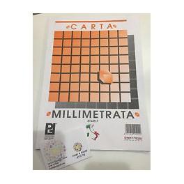 CARTA MILLIMETRATA 21 X 29.7 10 FF