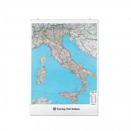 CARTINA ITALIA 100 X 140